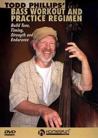 TODD PHILLIPS BASS WORKOUT & PRACTICE BY PHILLIPS,TODD (DVD)